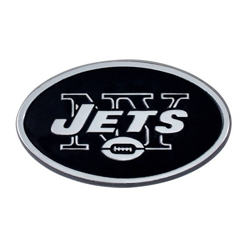 NFL New York Jets 3D Chrome Metal Emblem - image 1 of 3