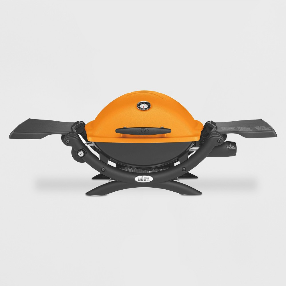 Weber Q 1200 LP Gas Grill- Orange 16754018