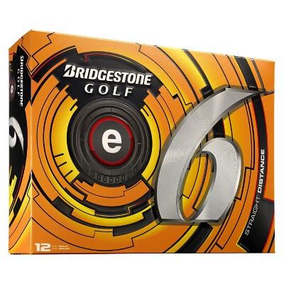 Bridgestone® Golf e6 Straight Distance Golf Balls - 12pk