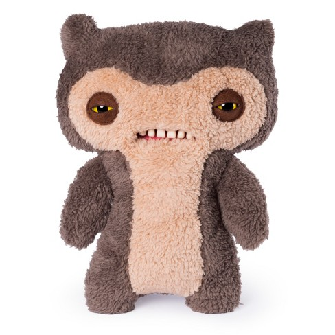 """Fuggler Funny Ugly Monster 12"""" Lil' Demon Deluxe Plush Creature with Teeth - Gray - image 1 of 4"""