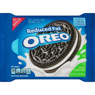 Cookies: Oreo Reduced Fat