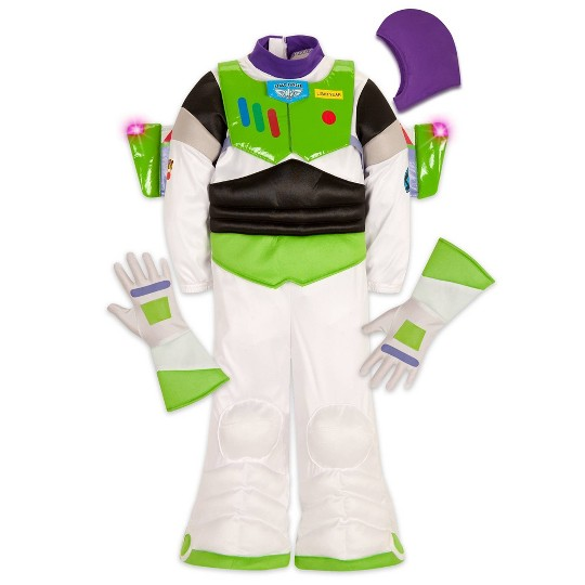 Disney Toy Story Buzz Lightyear Costume - Size 9/10, Men's, Size: Small, White image number null