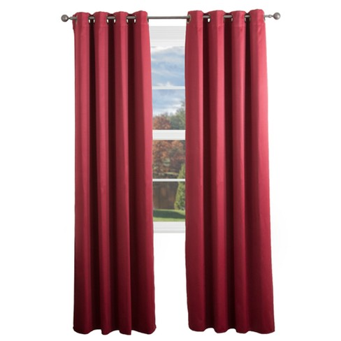 """Blackout Grommet Curtain Panel 84""""x54"""" - Yorkshire Home - image 1 of 3"""