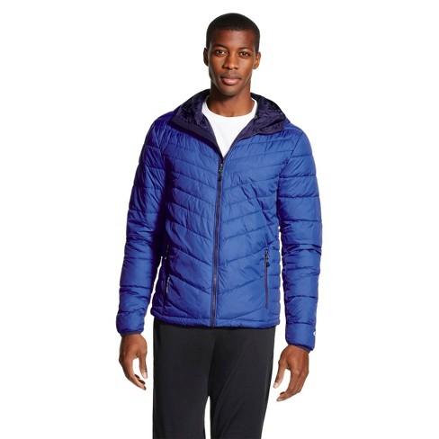 C9 Champion® - Men's Lightweight Puffer Jacket Allure Blue L - image 1 of 1