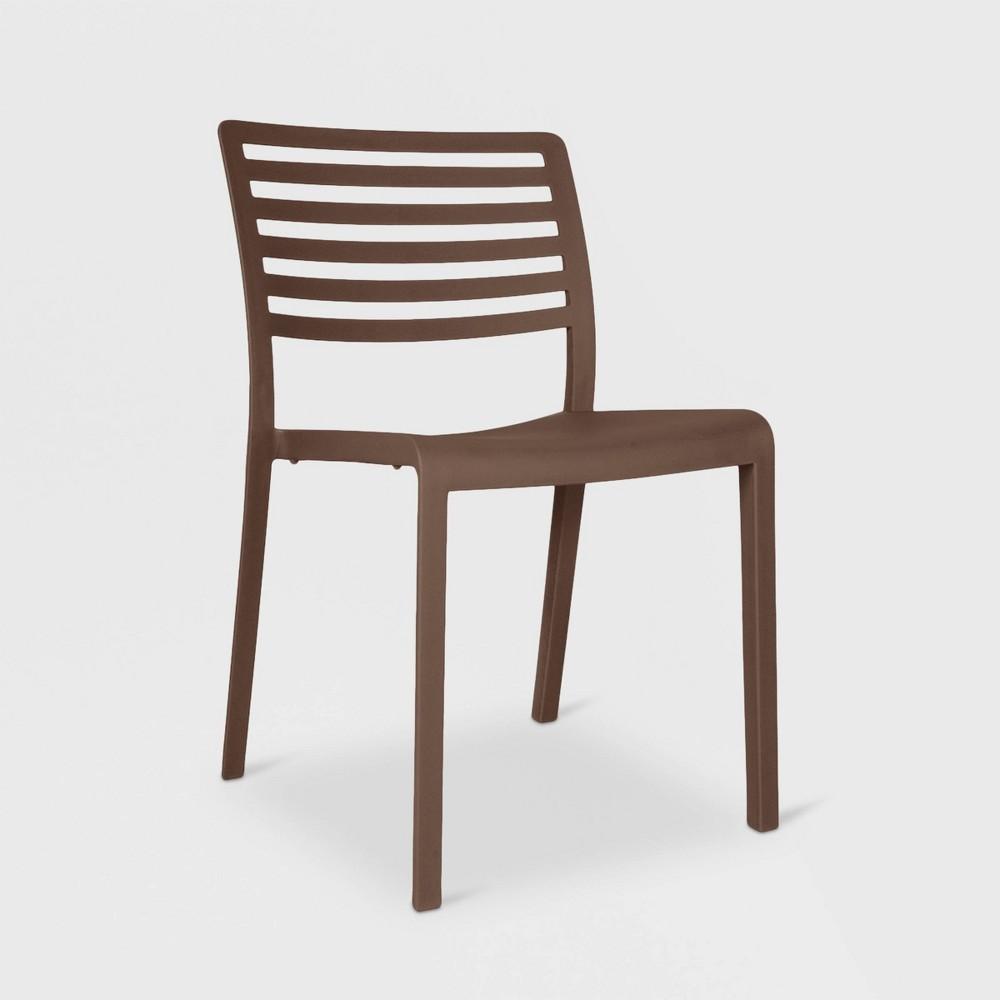 Image of Lama 2pk Patio Chair - Warm Gray - RESOL