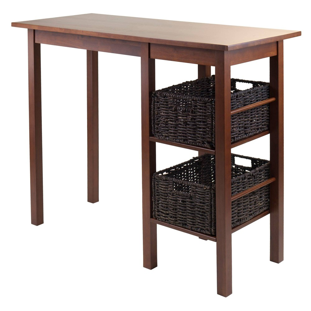 Best Price Dining Table WoodWalnut Brown Winsome