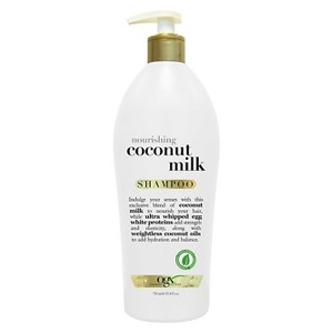 OGX Nourishing Coconut Milk Shampoo- 25.4 fl oz, Size: 25.4 Ounce