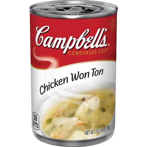 Campbell's® Condensed Chicken Won Ton Soup 10.5 oz - image 1 of 5