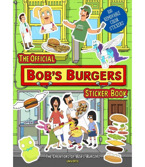 Official Bob's Burgers Sticker Book -  (Paperback) - image 1 of 1