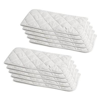 Machine Washable Waterproof Bulk Pack Mattress Pad - Bokser Home Hospitality