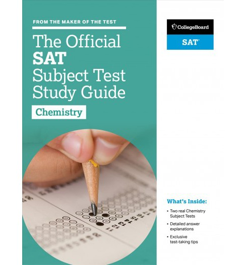 Official SAT Subject Test Chemistry (Paperback) - image 1 of 1