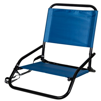Stansport Sandpiper Folding Beach Sand Chair Blue