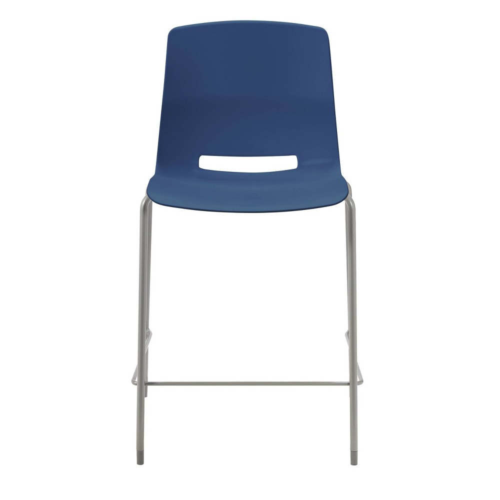 """Image of """"25"""""""" Lola Stacking Office Counter Stool Navy - Olio Designs, Blue"""""""