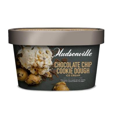 Hudsonville Creamery Chocolate Chip Cookie Dough Ice Cream - 48oz