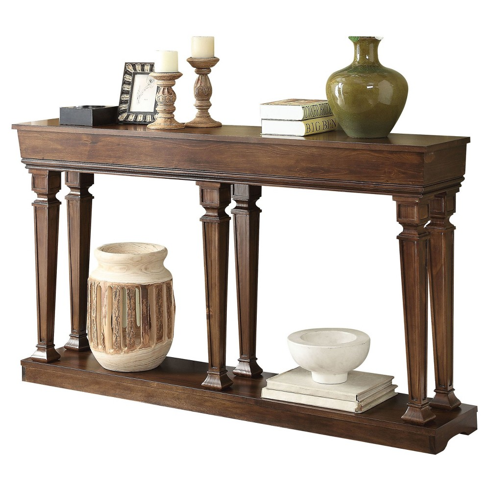 Console Table Oak (Brown)