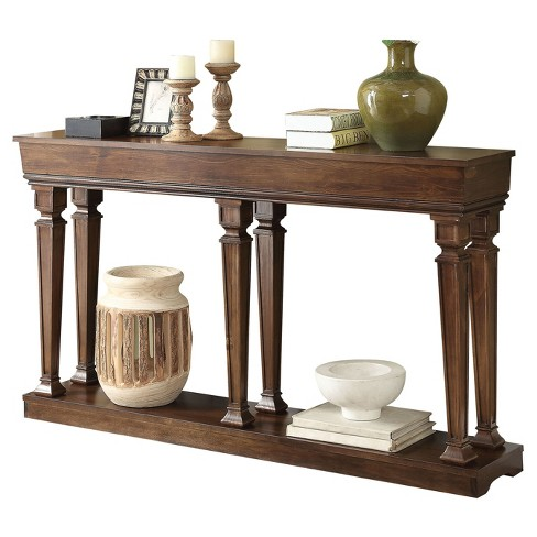 Console Table Oak - image 1 of 2