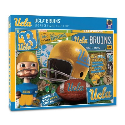 NCAA UCLA Bruins Throwback Puzzle 500pc
