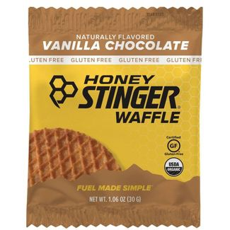 Honey Stinger Gluten Free Organic Vanilla and Chocolate Waffle Nutrition Bars