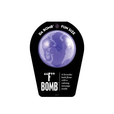 """Da Bomb Bath Fizzers """"F"""" Bath Bomb - 3.5oz"""