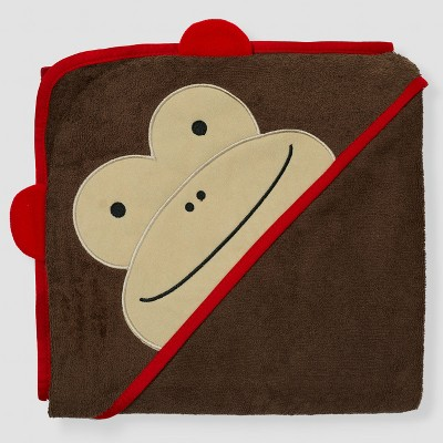 Skip Hop Baby Zoo Hooded Towel - Brown Monkey