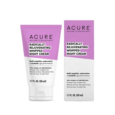 Facial Moisturizer: Acure Radically Rejuvenating Whipped Night Cream