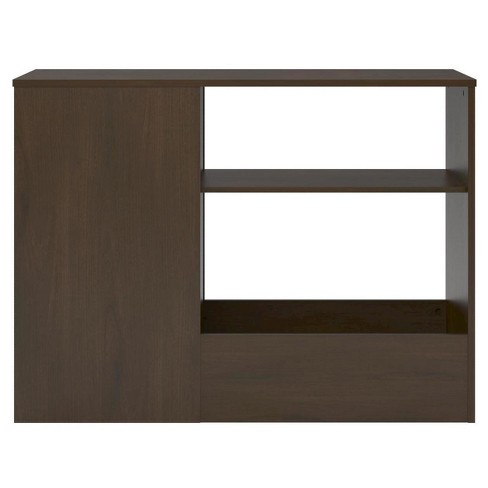 Cody Toy Box Bookcase With Door Espresso - Room & Joy - image 1 of 4