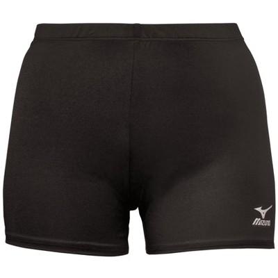 """Mizuno Youth Girl's Vortex 4"""" Inseam Volleyball Shorts"""