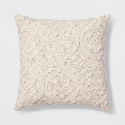 Decorative Throw Pillow Natural - Threshold™