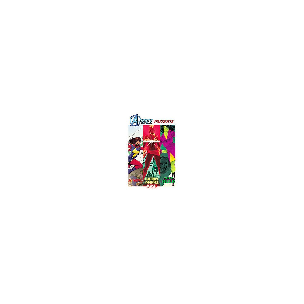 A-Force Presents 4 (Paperback) (Nathan Edmondson & Kelly Sue Deconnick & G. Willow Wilson & Charles