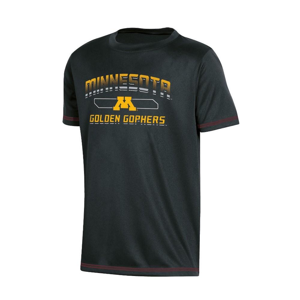 NCAA Boys' Poly T-Shirt Minnesota Golden Gophers - XL, Multicolored
