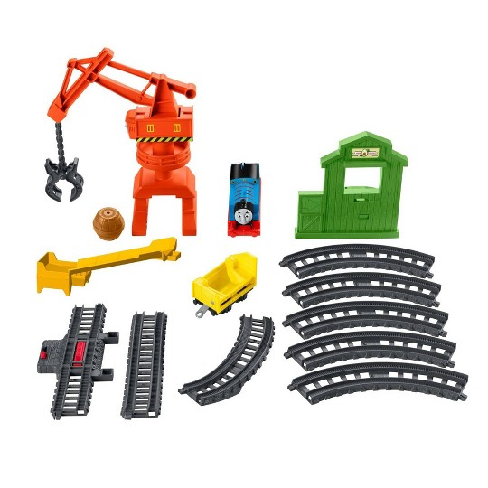 Fisher-Price Thomas & Friends Trackmaster Cassia Crane & Cargo Set image number null