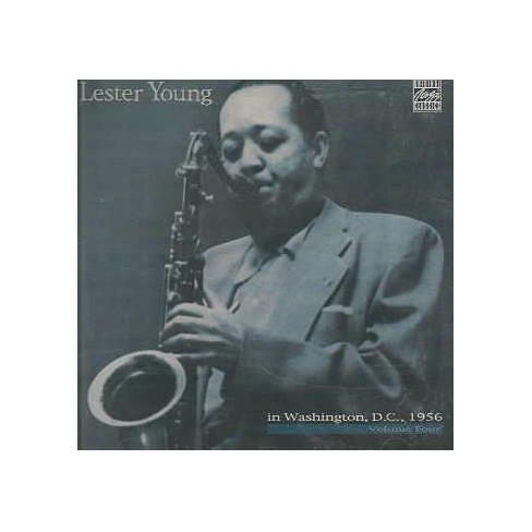 Lester Young - In Washington D.C. Vol 04 (CD) - image 1 of 1