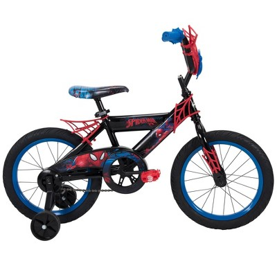 "Huffy Marvel 16"" Spider-Man Kids' Bike - Blue"