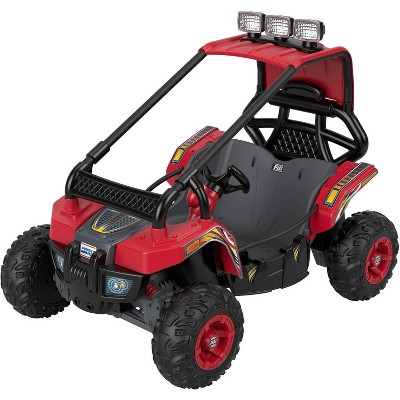 Power Wheels 12V Baja Trailster Powered Ride-On - Red/Black