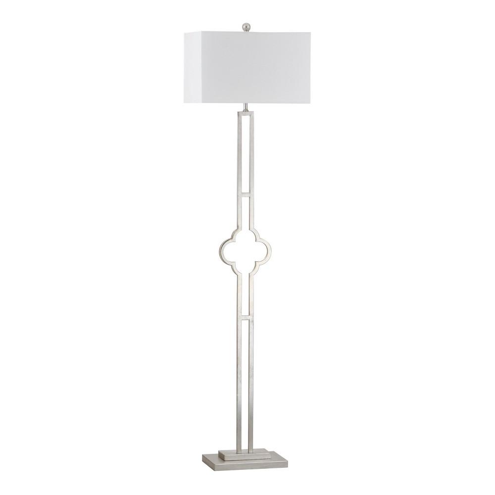 Floor Lamps (Includes Energy Efficient Light Bulb) - Safavieh, Silver