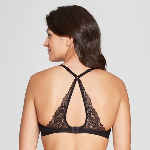 d01cd6c68b6819 Women s Padded Triangle Bralette - Auden™   Target