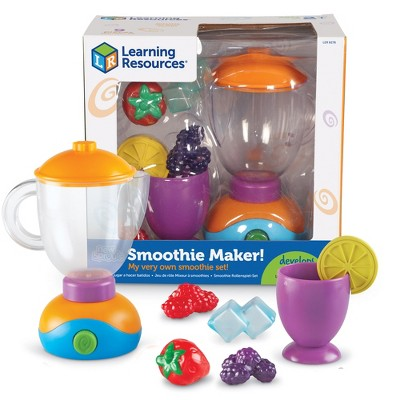 Learning Resources New Sprouts Smoothie Maker!, 9 Pieces, Ages 2+