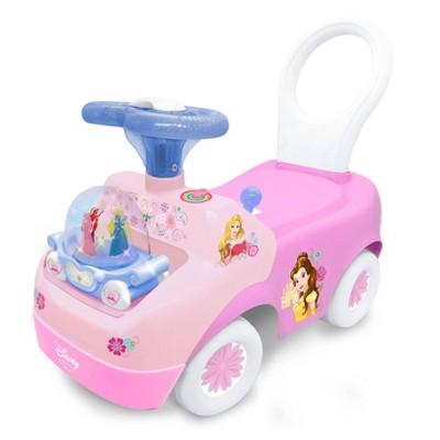 Kiddieland Disney Spark n Glow Princess Carriage Ride-On - Pink