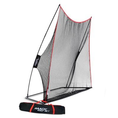 Rukket Sports 10 x 7-Foot Haack Indoor/Outdoor Home Heavy-Duty Golf Practice Knotless Net Golfer Training Aid
