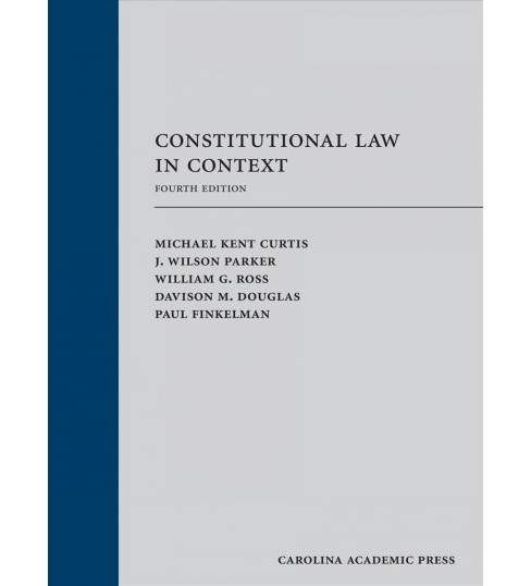 Constitutional Law in Context -  (Hardcover) - image 1 of 1