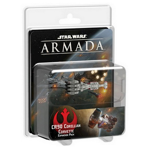 Star Wars Armada Game CR90 Corellian Corvette Expansion Pack - image 1 of 1