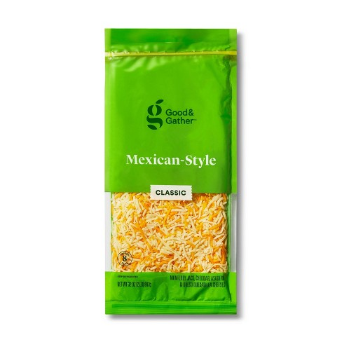 Shredded Mexican-Style Cheese - 32oz - Good & Gather™ - image 1 of 2