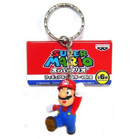 Super Mario PVC Figure Keychain Mario Keychain - image 1 of 1