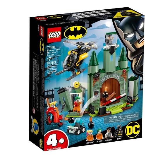 LEGO DC Comics Super Heroes Batman and The Joker Escape Arkham Asylum Building Set 76138 image number null