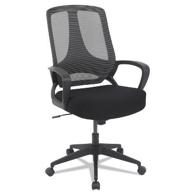 Alera MB Series Mesh Mid-Back Office Chair Black MB4718