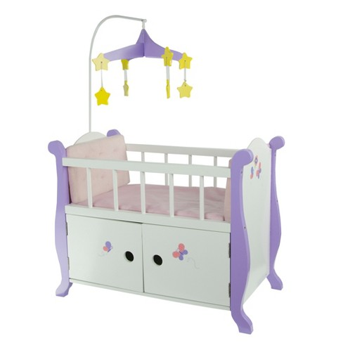Olivia S Little World Little Princess 18 Doll Furniture Baby Nursery Bed With Cabinet