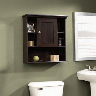 Decorative Wall Shelf Espresso Brown - Sauder