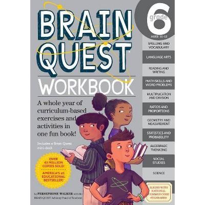 Brain Quest Workbook Grade 6 05/19/2015 Juvenile Nonfiction (Paperback)