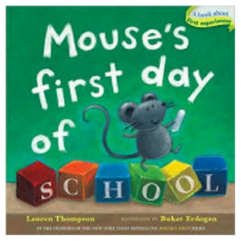 Mouse's First Day of School ( Mouse's First) (Board) - image 1 of 1
