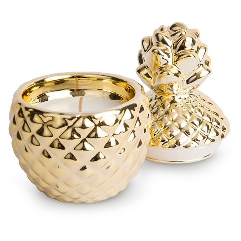 Pineapple Candle Gold - West Emory®   Target 04be563ba3